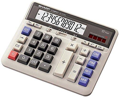 SHARPの電卓「コンペット」が最高!