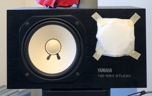 YAMAHA NS-10M STUDIOは今も現役です